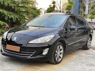 Bán Peugeot 408 sản xuất 2014, màu đen còn mới