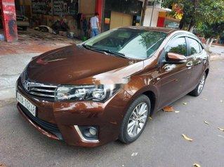 Bán Toyota Corolla Altis đời 2015, màu nâu còn mới, 495tr