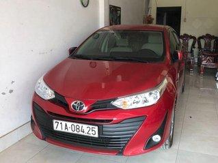 Xe Toyota Vios đời 2019, màu đỏ, nhập khẩu
