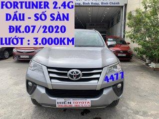 Toyota Fortuner dầu số sàn ĐK 07/2020, siêu lướt 3.000km