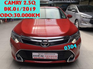 Toyota Camry 2.5Q ĐK 2019, đỏ đô, cực đẹp