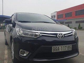 Cần bán xe Toyota Vios 1.5E năm 2016, màu đen giá cạnh tranh