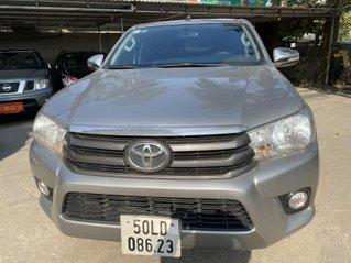 Cần bán lại xe Toyota Hilux 2016, màu xám, xe nhập