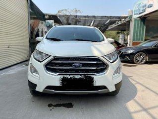 Bán Ford EcoSport đời 2018, màu trắng xe gia đình giá tốt