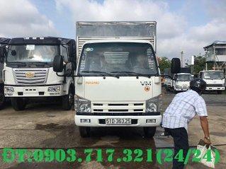 Xe tải Isuzu VM 1T9 thùng kín dài 6m2, giao xe ngay hỗ trợ vay 75%, xe tải VM 1.9 tấn thùng kín 6m2