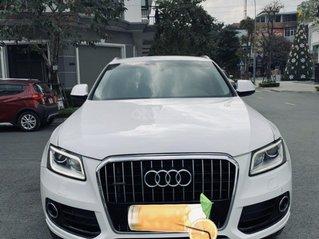 Bán Audi Q5 sản xuất 2016 màu trắng xe nhập khẩu nguyên chiếc, zin từ trong ra ngoài đẹp tê dại lòng người