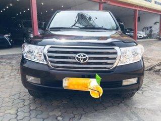 Bán Toyota Land Cruiser VX sản xuất 2008, màu đen nhập khẩu Nhật Bản, xe zin từ trong ra ngoài