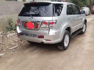 Bán Toyota Fortuner năm sản xuất 2014, màu bạc, nhập khẩu, giá tốt