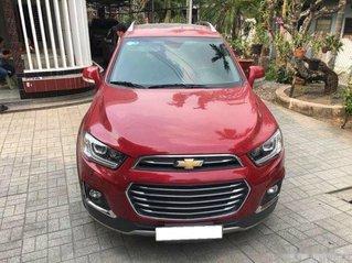 Cần bán lại xe Chevrolet Captiva năm 2016, màu đỏ