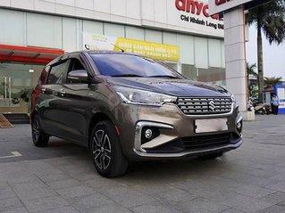 Cần bán xe Suzuki Ertiga năm sản xuất 2019, màu xám, xe nhập còn mới, giá tốt