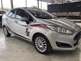 Bán ô tô Ford Fiesta sản xuất 2014, màu bạc, xe nhập