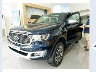 Ford Everest Titanium 2021 giá ưu đãi, tặng phụ kiện chính hãng, có xe giao ngay