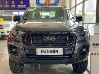 Ford Ranger Wildtrak mới 2021, màu xám cực hiếm tại HCM, khuyến mãi tiền mặt + phụ kiện lên đến 50tr