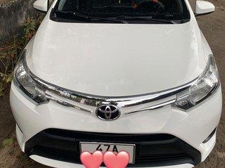 Bán Toyota Vios đời 2015, màu trắng, nhập khẩu