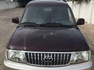 Cần bán xe Toyota Zace sản xuất năm 2003, màu đỏ, 160 triệu