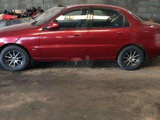 Bán Daewoo Lanos năm sản xuất 2002, màu đỏ, xe nhập chính chủ
