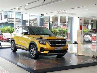 Bán xe Kia Seltos sản xuất 2020, màu vàng, 589 triệu