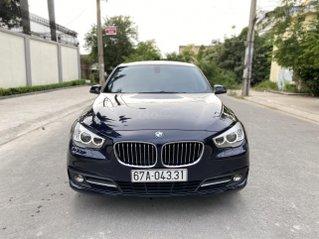 Bán BMW 528i GT, sản xuất 2016, đăng ký lần đầu 2017, màu xanh nội thất kem, một chủ mua mới, bảo dưỡng hãng đều đặn