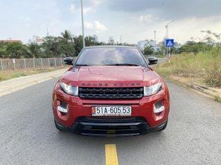 Bán Range Rover Evoque Couple Dynamic, xe 2 cửa cực kỳ hiếm, màu đỏ nội thất da đen đỏ 2 màu, sản xuất 2012, full options