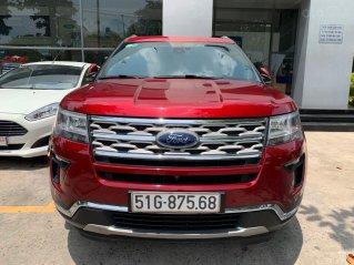 Cần bán lại xe Ford Explorer đời 2018, màu đỏ, chính chủ, giá chỉ 1 tỷ 880 triệu đồng
