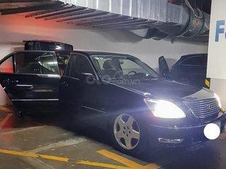 Bán Lexus LS430 sản xuất năm 2004, màu đen, xe nhập