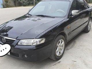 Xe Mazda 626 năm sản xuất 2002, màu đen, xe còn mới