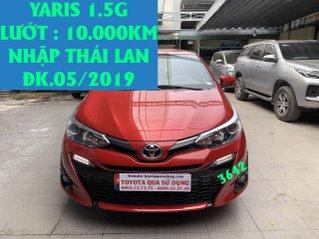 B án Yaris 1.5G đk 05/2019, lướt: 3.000km, nhập Thái Lan