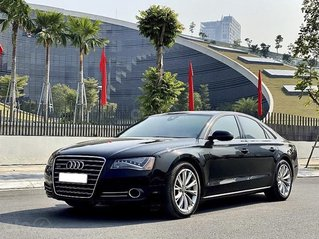 Bán Audi A8 sản xuất 2010, màu đen, xe nhập chính chủ