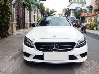 Cần bán Mercedes-Benz C class đời 2018, màu Trắng ít sử dụng giá chỉ 1 tỷ 380 triệu đồng