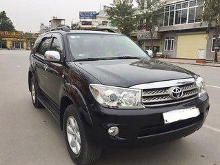 Cần bán lại xe Toyota Fortuner sản xuất năm 2009, màu đen, giá chỉ 415 triệu
