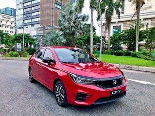 Bán xe Honda City sản xuất năm 2020, màu đỏ, 599tr