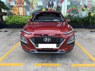 Bán xe Hyundai Kona năm 2018, màu đỏ còn mới