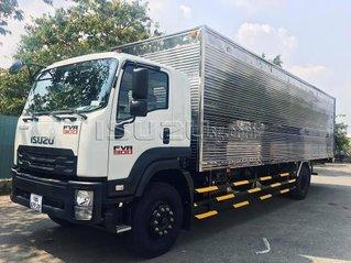 Xe tải Isuzu FVR900 7.6 tấn thùng dài 9.4m trả góp 90%, trả trước 10% giao xe