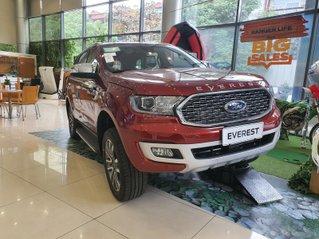 Ford Everest Titanium 4x2 2021 đỏ cực hiếm tại HN, giao ngay - ưu đãi tiền mặt + phụ kiện lên đến 40tr