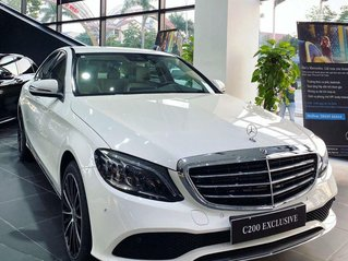 Bán Mercedes C200 đời 2021, màu trắng