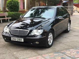 Cần bán xe Mercedes C180 đời 2004, màu đen