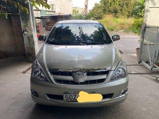 Cần bán xe Toyota Innova năm sản xuất 2007, màu bạc