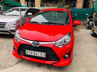 Cần bán gấp Toyota Wigo đời 2019, màu đỏ, nhập khẩu