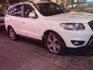 Bán Hyundai Santa Fe đời 2012, màu trắng, nhập khẩu nguyên chiếc