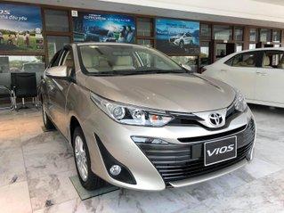 Toyota Vios 2021 xe giao tháng 1 ưu đãi tốt, hỗ trợ trả góp tối đa 80%