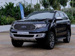 Giao ngay Ford Everest Titanium 4x2 2021 đủ màu miền Bắc, ưu đãi tiền mặt + phụ kiện khủng lên đến 100tr