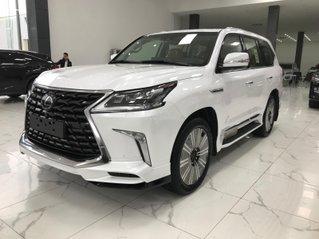 Cam kết có xe ngay Lexus Lx570 Super Sport S 2021 màu trắng, nội thất nâu mới
