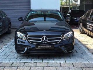Mercedes E300 đen/nâu lướt 6800 km, demo chính hãng