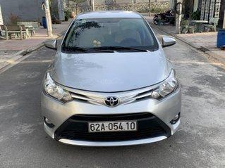 Bán chiếc Toyota Vios sản xuất 2016 bản E màu bạc