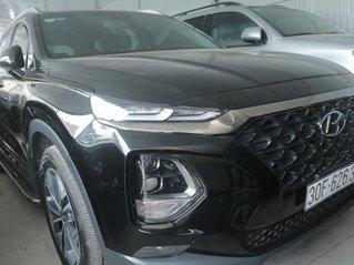 Bán xe Hyundai Santa Fe đời 2016, màu đen, số tự động, máy dầu