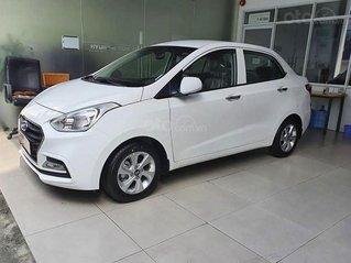 Bán Hyundai Grand i10 1.2 AT sản xuất năm 2020, màu trắng, giá chỉ 409 triệu