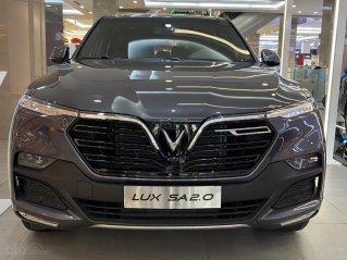 Bán VinFast Lux SA tiêu chuẩn màu xám - nhiều ưu đãi tháng 1 - xe sẵn giao ngay
