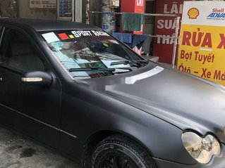 Cần bán lại xe Mercedes C class năm sản xuất 2001, xe nhập còn mới