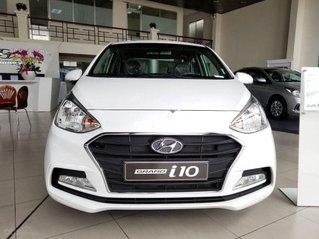 Bán ô tô Hyundai Grand i10 năm sản xuất 2021, màu trắng giá cạnh tranh
