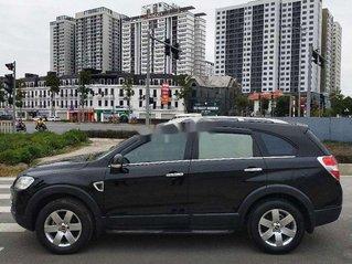 Xe Chevrolet Captiva năm sản xuất 2008, màu đen